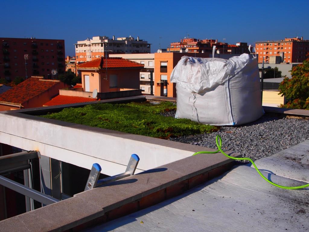 Azotea vegetada en Granada 1