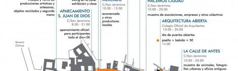 Domingo 21 de Septiembre. La calle es tuya: semana europea de la movilidad 2014